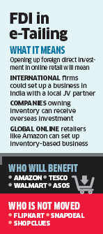 Flipkart not in favour of FDI in sector; says will benefit only one company