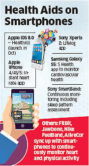 Many use mobile apps like Map My Fitness, My Fitness Pal, Adidas miCoach to check their health status