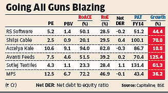 Six mid-cap stocks stand out in crowd, with good valuations