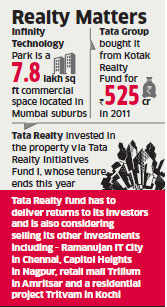 Global financial services firm Xander to buy  Tata Realty and Infrastructure-owned Infinity Tech Park for Rs 650 crore