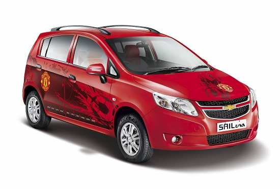 Gm India Launches Beat And Sail Manchester United Limited