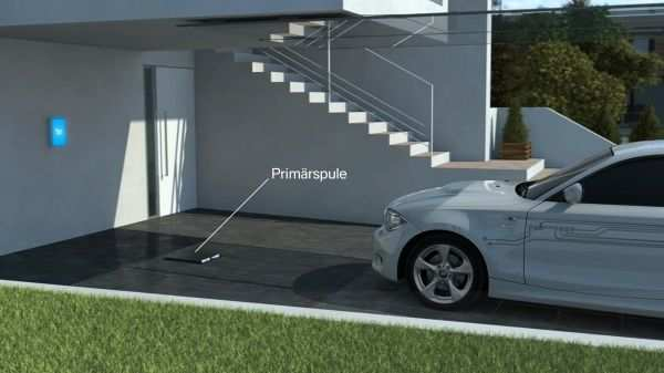 BMW, Daimler jointly developing inductive charging system