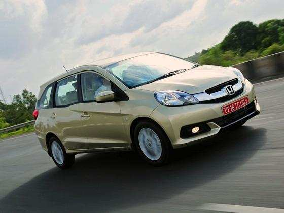 Honda Mobilio to start at Rs 6 lakh