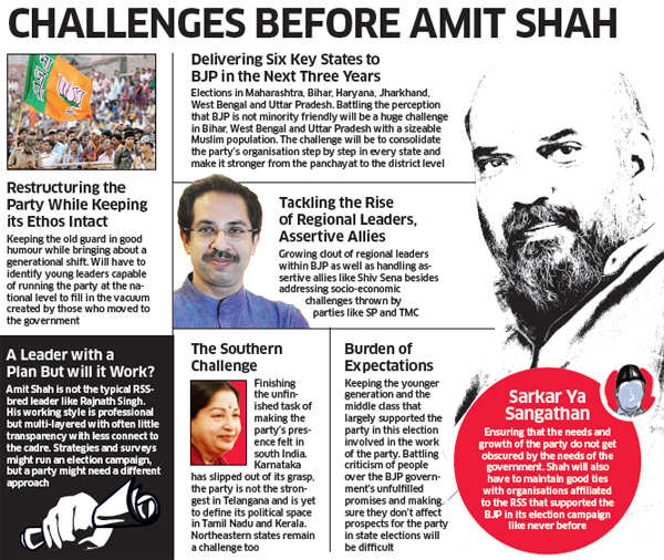 Amit Shah to rule UP BJP through his trusted men like Sunil Bansal, others