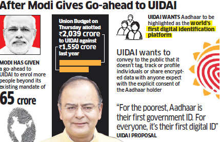 UIDAI set for an image makeover, to spend Rs 30 crore for its media campaign