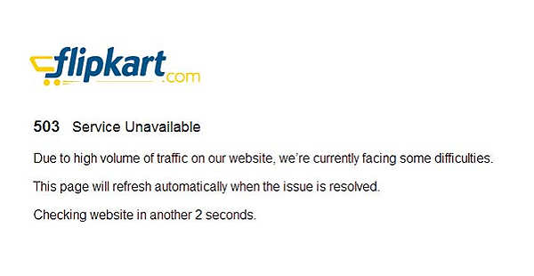 Flipkart crashes temporarily after Xiaomi's Mi 3 goes on sale