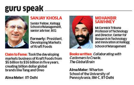 Kraft's Sanjay Khosla and Kellogg B-School's Mohanbir Sawhney present a unique take on strategy