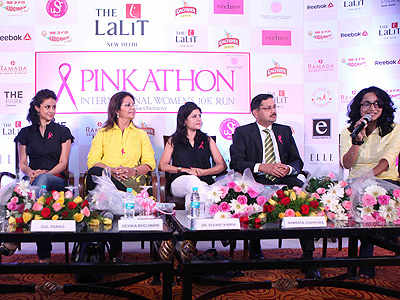 Pinkathon: Running for a good cause