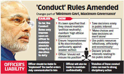 Modi lists out 19 new commandments for conduct of bureaucrats, says maintain political neutrality
