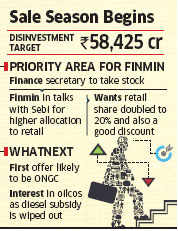 Tapping bull run: Government to give a big divestment push and discounts to retail investors