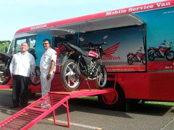 Honda introduces 'Mobile Service Van'