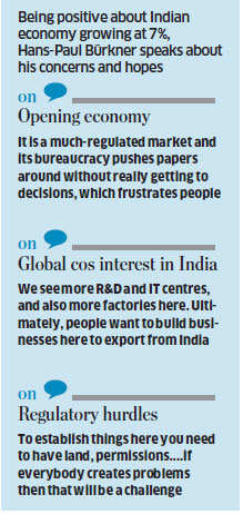 If India unleashes its full potential, it can grow faster than China: Hans-Paul Bürkner, Chairman BCG