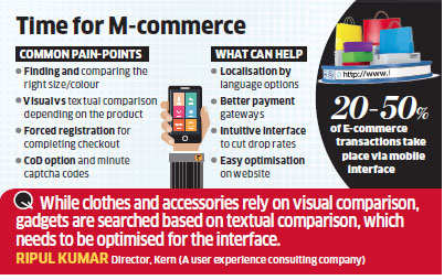 Online retailers working on their websites to make shopping easier on mobile devices