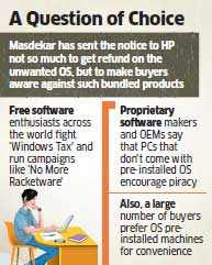"Ishan Masdekar sends legal notice to HP for ""compelling"" him to buy a notebook with Windows 8"