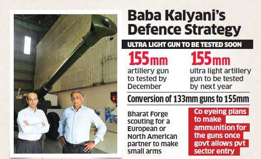 Bharat Forge turns focus to defence technology