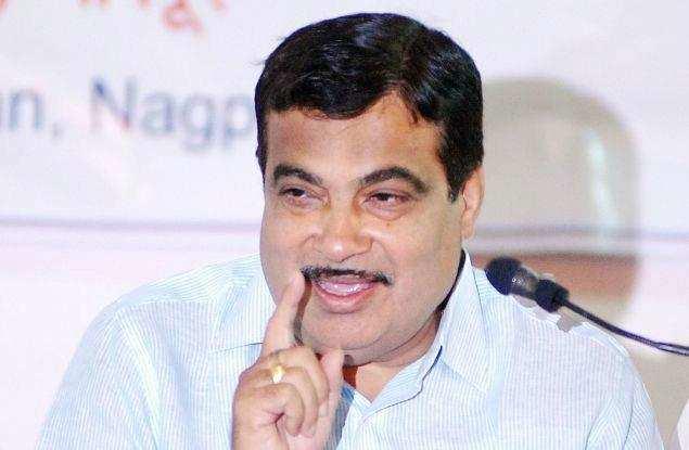 Union minister for transport Nitin Gadkari.