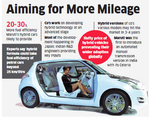 Maruti Suzuki aims to make hybrids affordable, offer technology on cars from Alto to Swift hatchback