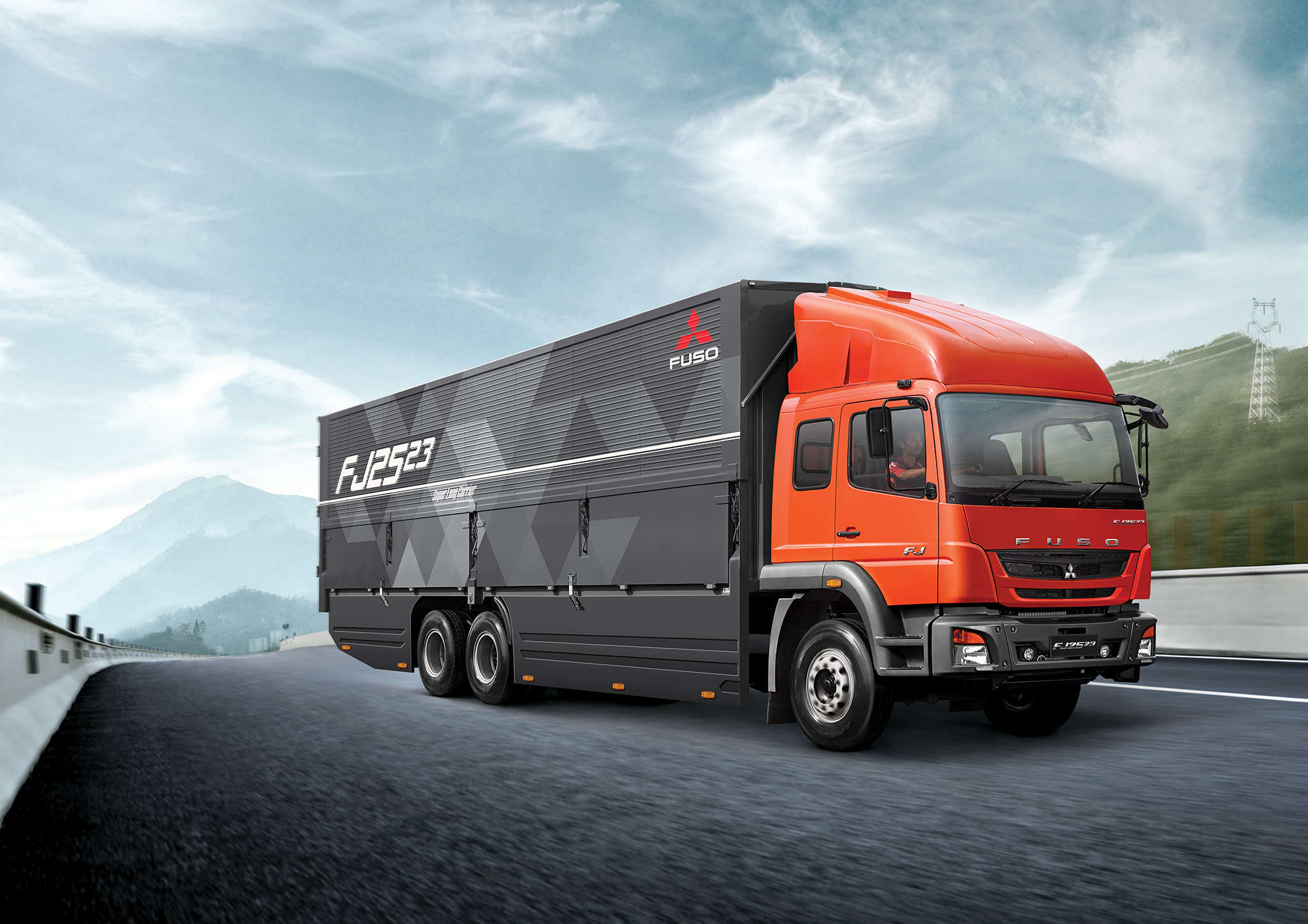 Made in India FUSO trucks launched in Indonesia - The Economic Times