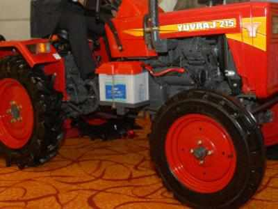 Mahindra launches 15-HP tractor Yuvraj 215 NXT - The