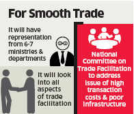 India plans committee to ease customs norms for boosting international trade