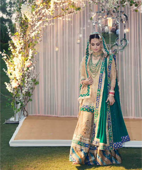 Dia Mirza's  gets married to Sahil Sangha in Avadhi style