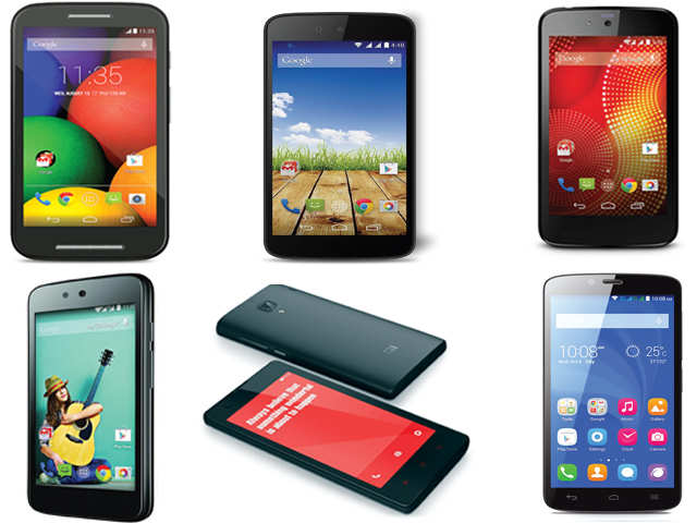 Which are the best Android smartphones available for less than Rs 7000?