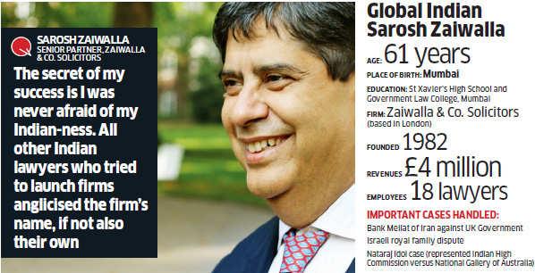 Sarosh Zaiwalla: The international arbitrator from India