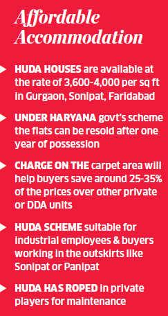 Haryana Urban Development Authority houses 60% cheaper than DDA's: Experts