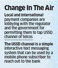 Mobile banking will soon be possible with a basic handset and without accessing the internet