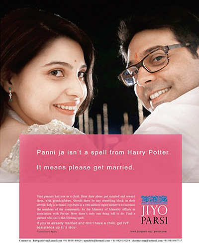 Jiyo Parsi campaign creates a buzz, but loses track on urging women to marry early & make babies