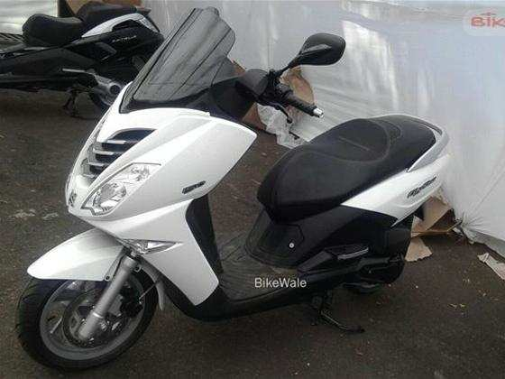 Peugeot scooters spotted at Mahindra's facility in India