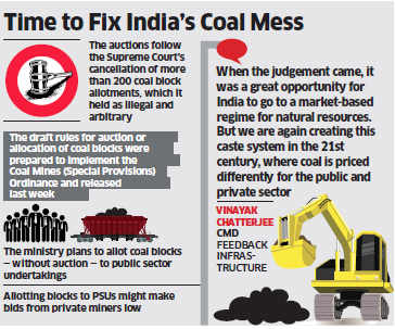 Five major questions about NDA government's coal block auctions