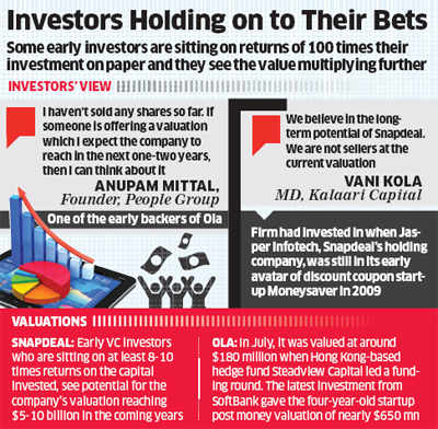 Snapdeal, Ola backers say no to SoftBank's buyout offer