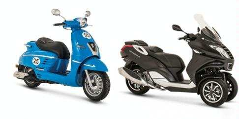 brings to you a glimpse of the range of scooters to be assembled and launched in India by Mahindra Peugeot