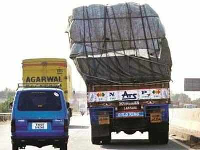 Overloaded trucks get in because of nexus