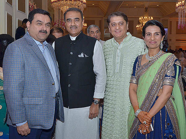politicians ceos amp bollywood a starry turnout at chanda