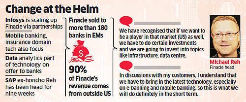 Infosys' banking platform Finacle looks to invest in US-Asia Pacific