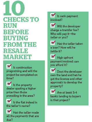 Pros and cons of buying property from secondary market