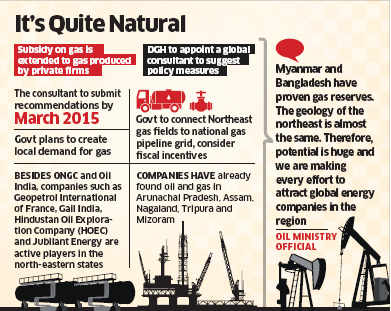 Narendra Modi government set to lure investors to oil and gas rich North-East