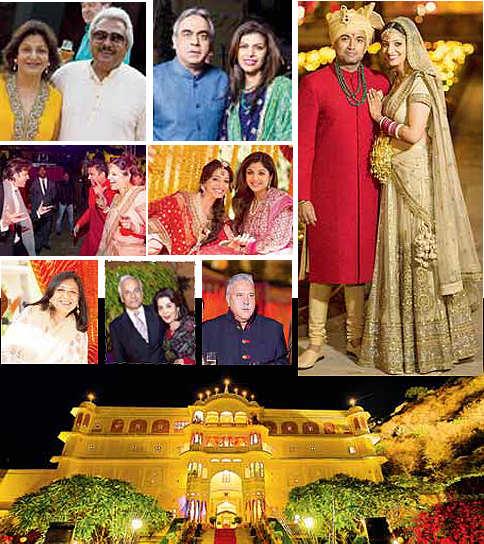 Rajasthan Revelry: The Alaghs' celebration at Jaipur