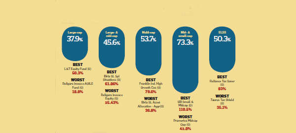 How did MFs fare in 2014? Mid-cap & small-cap category outshone large-cap funds