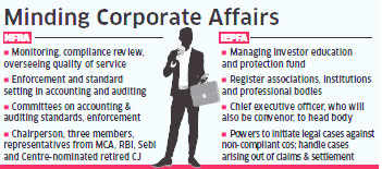 Government to implement new Companies Act that includes setting up IEPFA and NFRA