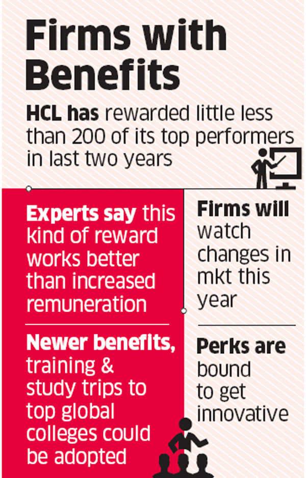 HCL rewards 130 top performers by offering them a paid holiday abroad with family or a Mercedes