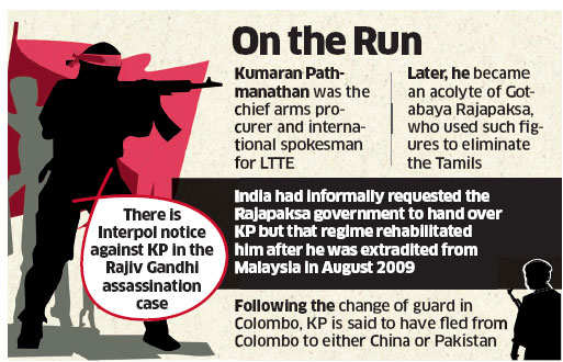 Rajiv Gandhi assassination accused and ex-LTTE leader KP escapes from Sri Lanka