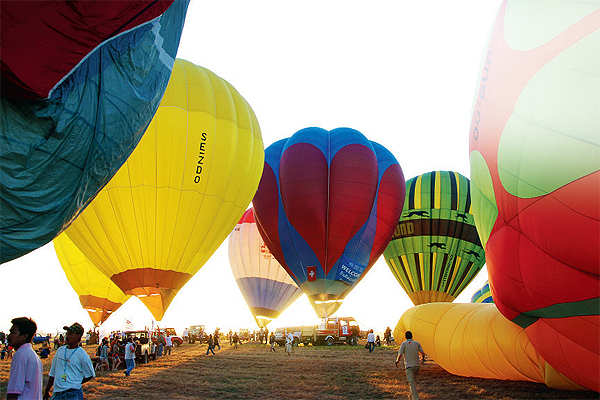 Traveller's Diary: Don't miss the colourful hot-air balloon