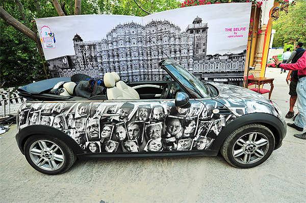 Slice of art at Jaipur Literature Festival