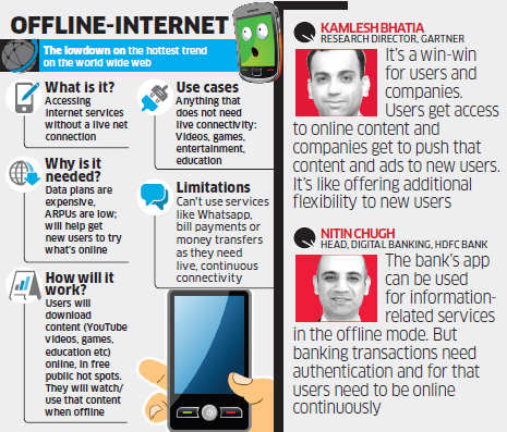 How offline internet could make the web more accessible to India's telecom user base