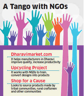 Startups like Dharavimarket.com, Upcycle Project & Green the Gap helping NGOs sell wares online