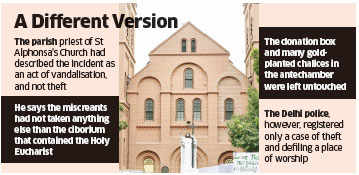 No pattern observed in repeated Church attacks, Delhi Police tells Home Ministry
