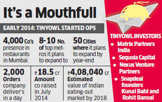 TinyOwl mops up rs 100 crore from Matrix Partners India and existing investors Sequoia Capital, Nexus Venture Partners
